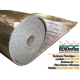 RENOreflex - Isolant refléctif - 15 m2 - 1,50MLx 10ML