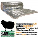 RENOlaine - Isolant thermique professionel laine de mouton - 15m2