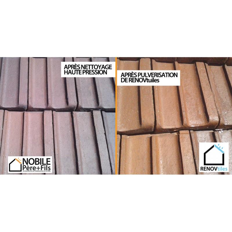 Renovtuiles hydrofuge incolore professionnel pour la r novation de toiture - Hydrofuge pour toiture ...