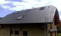 Rénovation d'ardoises fibro-ciment avec RENOVcolor gris ardoise